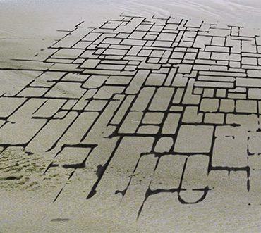 Mondriaan Striep Werelderfgoed Waddenzee