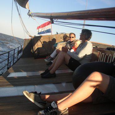 Samen zeilen op de Waddenzee