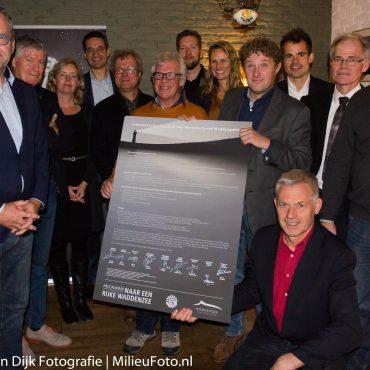Ondertekening Intentieverklaring Dark Sky Werelderfgoed Waddengebied. Meindert van Dijk/Milieufoto.nl