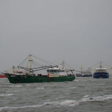 Mosselzaadvisserij in de Waddenzee