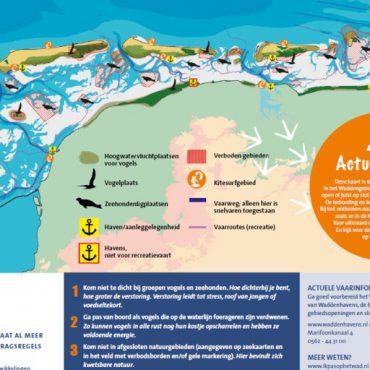 Zkaart Vaarrecreatie Erecode Waddenzee