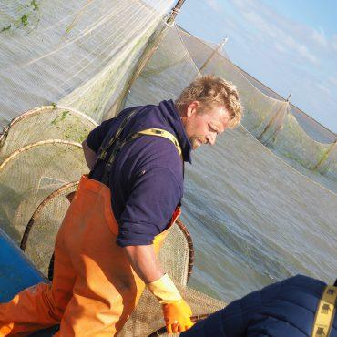 Vismonitoring op de Waddenzee bij Schiermonnikoog