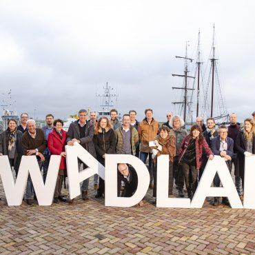 WadLab van het Wad op het bord - groepsfoto @PRW