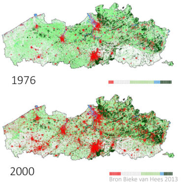 nevelstad Vlaanderen 1976 2000 aangepast