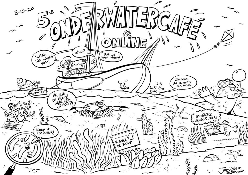 cartoon 5e onderwatercafe