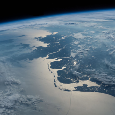 satellietfoto Waddenkust - Jeffrey Williams NASA